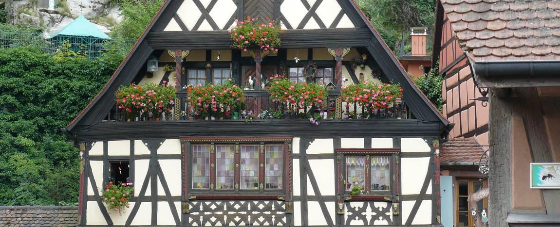 Découvrez l'Alsace pittoresque.